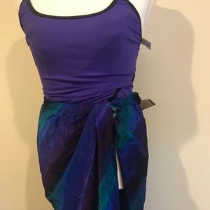 Vintage Swimsuit with skirt